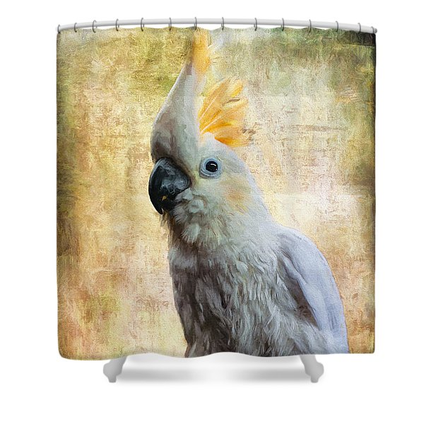 Elegant Lady Shower Curtain