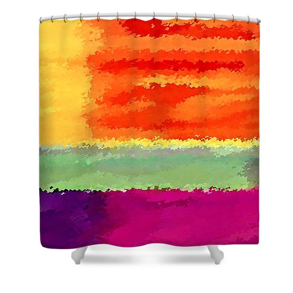 Elements Shower Curtain