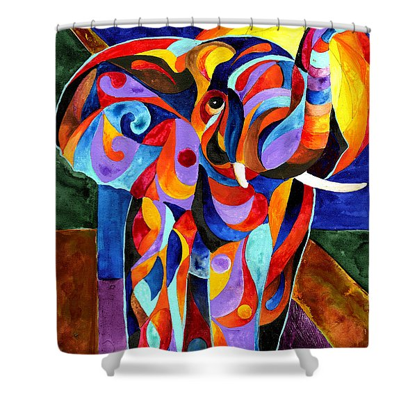 Elephant Dream Shower Curtain
