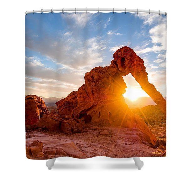 Elephant Rock Shower Curtain