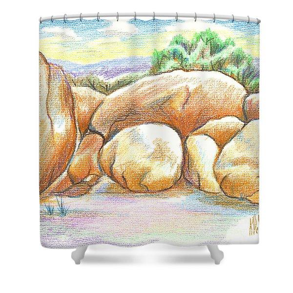 Elephant Rocks State Park II  No C103 Shower Curtain