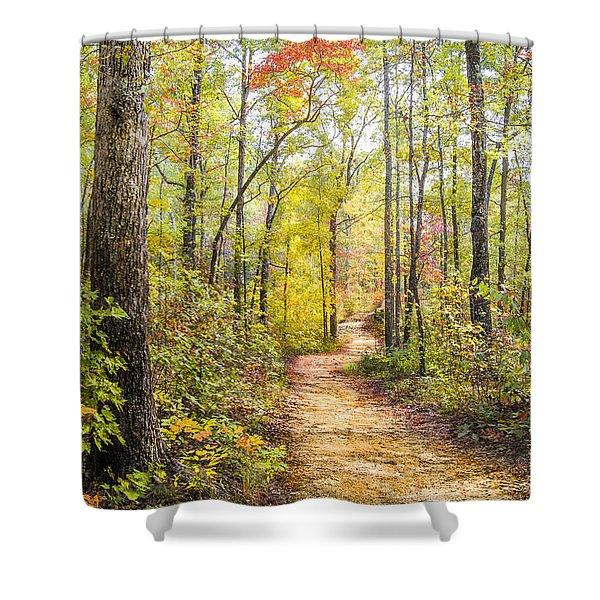 Elfin Forest Shower Curtain