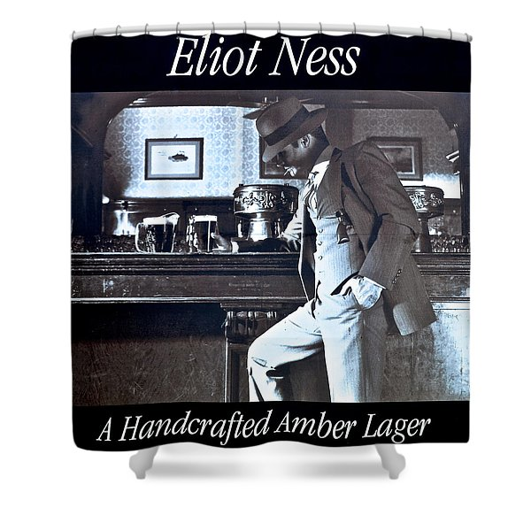 Eliot Ness Shower Curtain