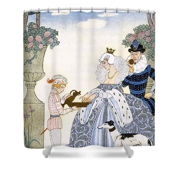 Elizabethan England Shower Curtain