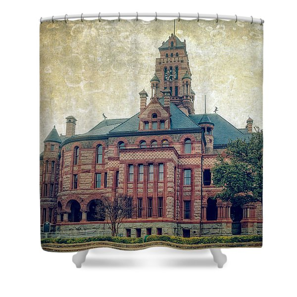 Ellis County Courthouse Shower Curtain