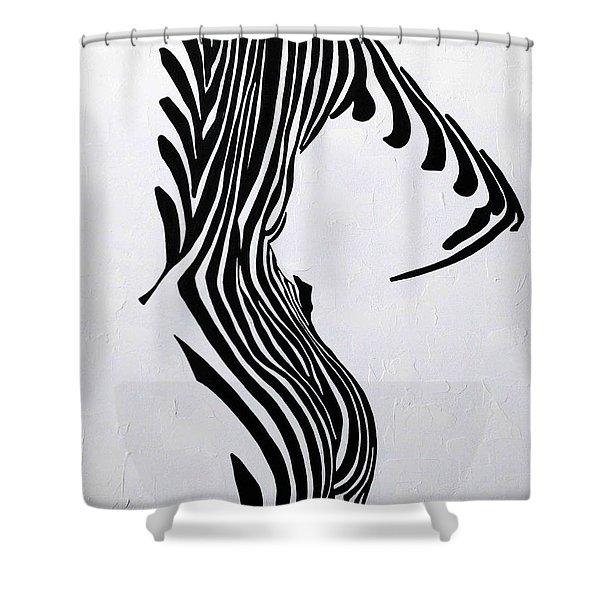 Embrace It  Shower Curtain
