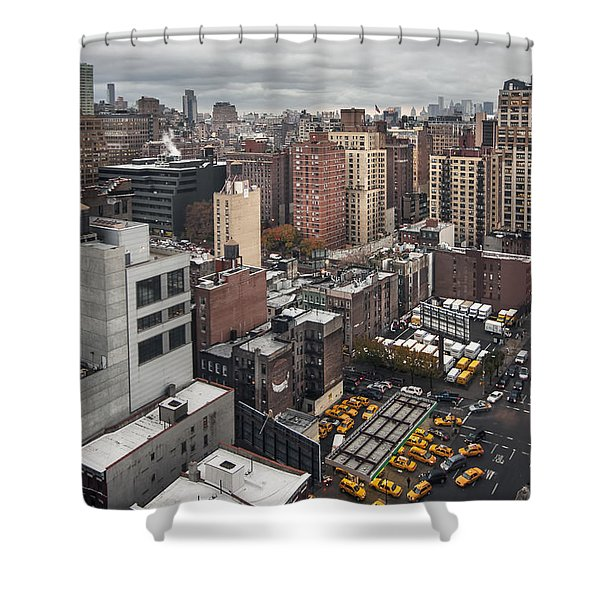 Embrace The Chaos Shower Curtain