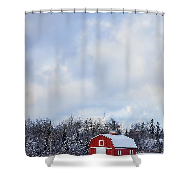 Embrace The Cold Shower Curtain
