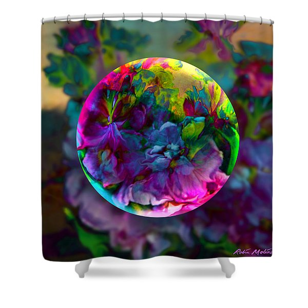 Emerging Spring  Shower Curtain