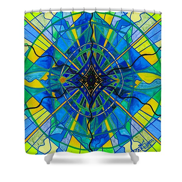 Emotional Expression Shower Curtain