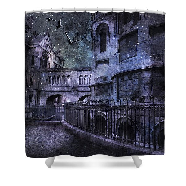 Enchanted Castle Shower Curtain