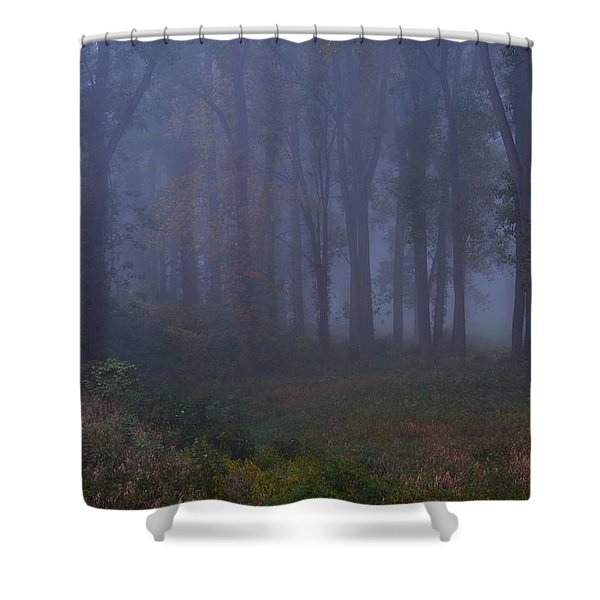 Enchanted Forest Two Shower Curtain