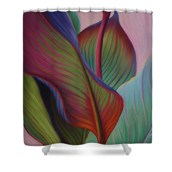 Shower Curtain featuring the painting Encore by Sandi Whetzel