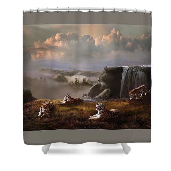 Shower Curtain featuring the photograph Endangered by Melinda Hughes-Berland
