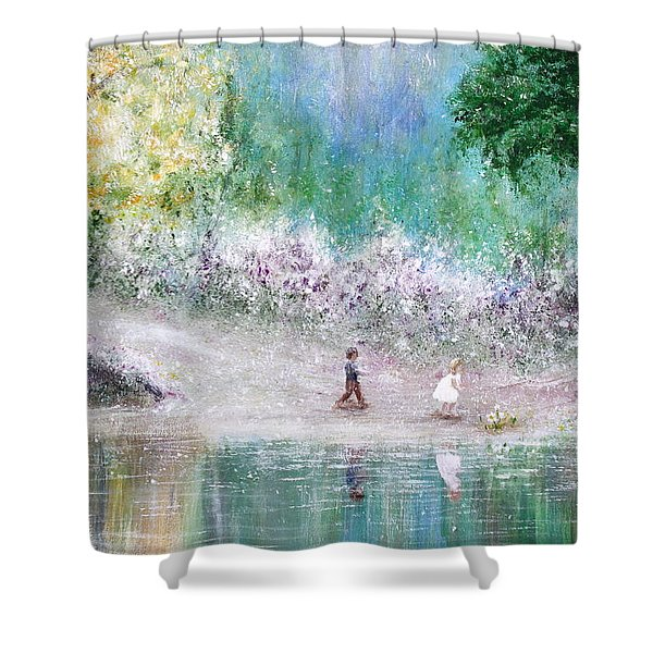 Endless Day Shower Curtain