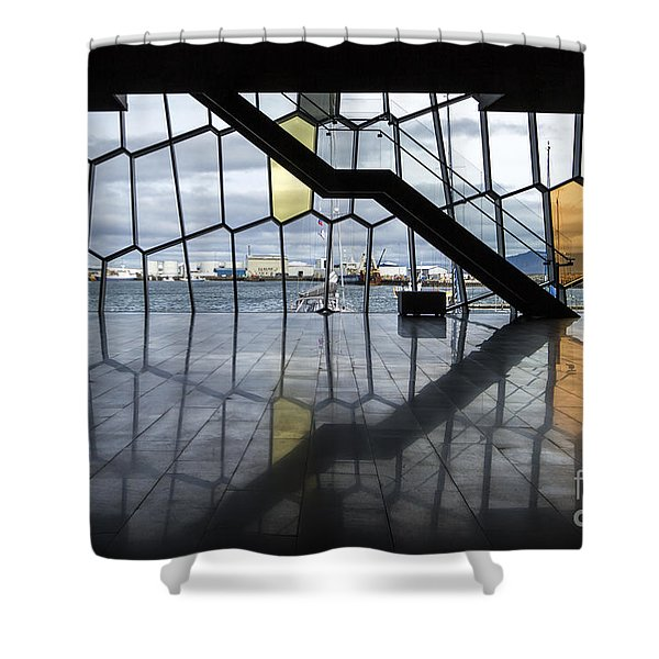 Endless Illusion Shower Curtain