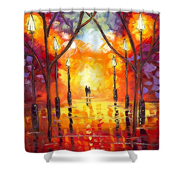 Endless Love Shower Curtain