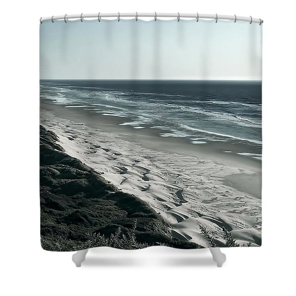 Endless Sand Dune Beach - Southern Oregon Shower Curtain