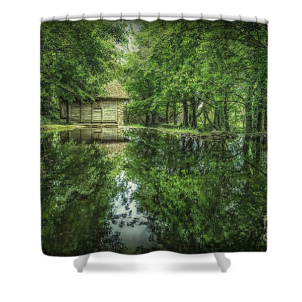 Endless Shades Of Green Shower Curtain