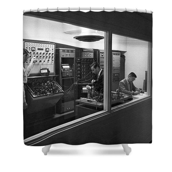 Engineers Use Analog Computers Shower Curtain