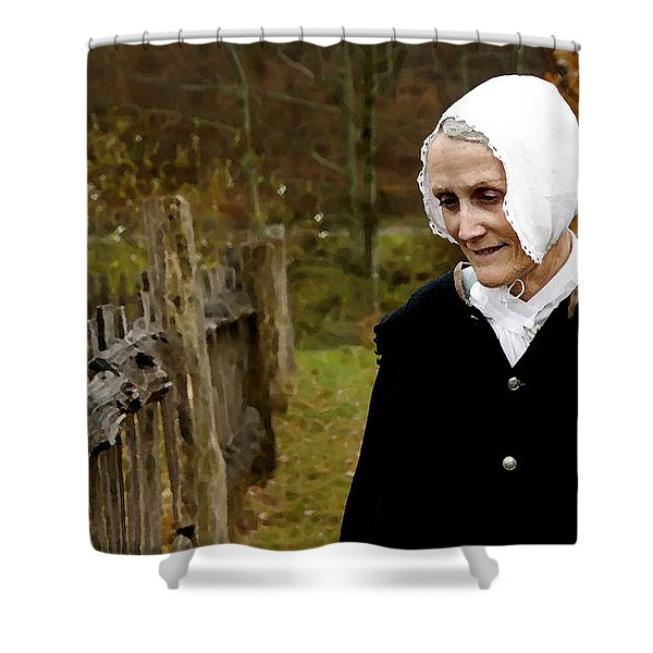 England On The Virginia Frontier Shower Curtain