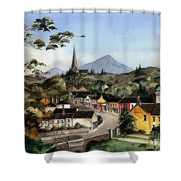Enniskerry Panorama Wicklow Shower Curtain