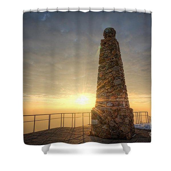 Ensign Peak Nature Park Utah Shower Curtain