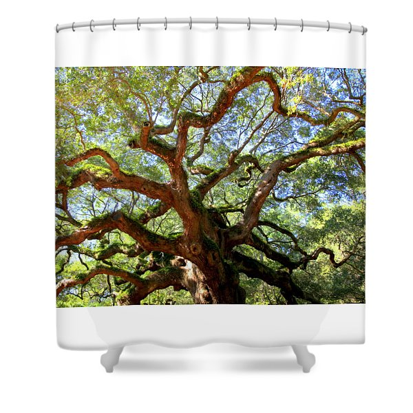 Entangled Beauty Shower Curtain