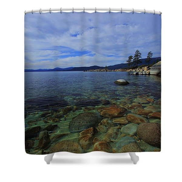 Enter Willingly  Shower Curtain