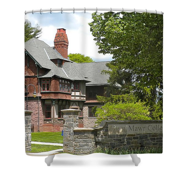 Bryn Mawr College Shower Curtain