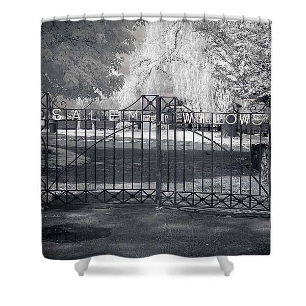 Entry To Salem Willows Shower Curtain