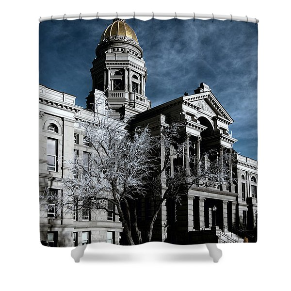 Equality State Dome Shower Curtain