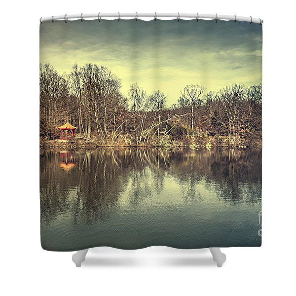 Escape From Shadowland Shower Curtain