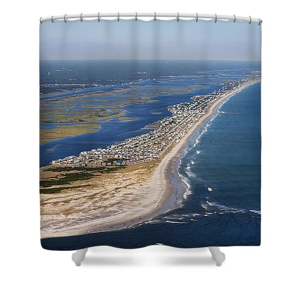 Escape To Topsail Island Shower Curtain