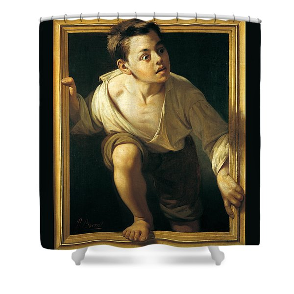 Escaping Criticism Shower Curtain