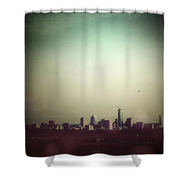 Escaping The City Shower Curtain