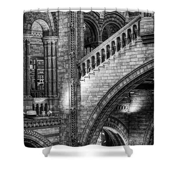 Escheresq Bw Shower Curtain