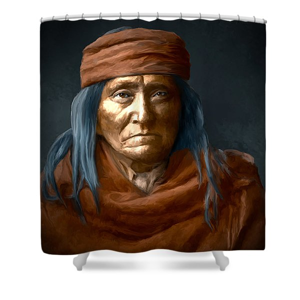 Eskadi - Apache Shower Curtain