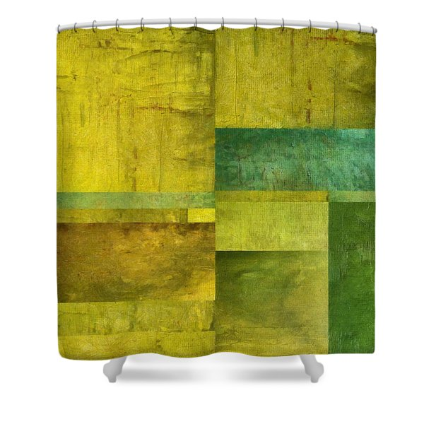 Essence Of Green Shower Curtain