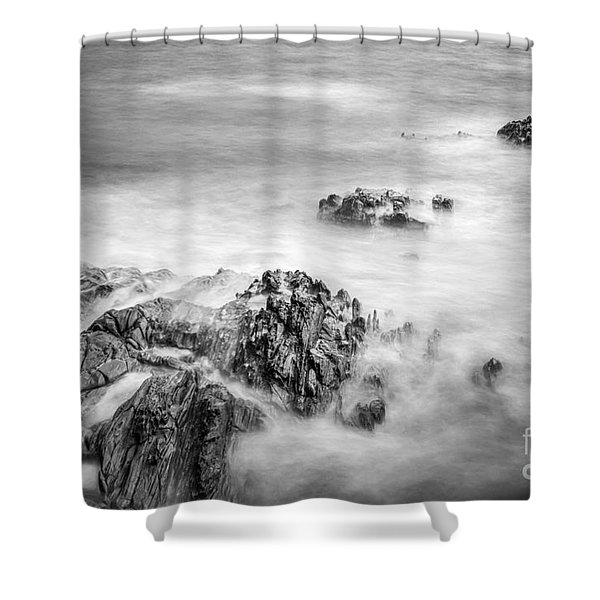Estacas Beach Galicia Spain Shower Curtain