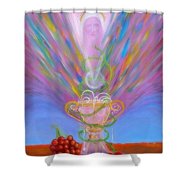Eucharist Shower Curtain