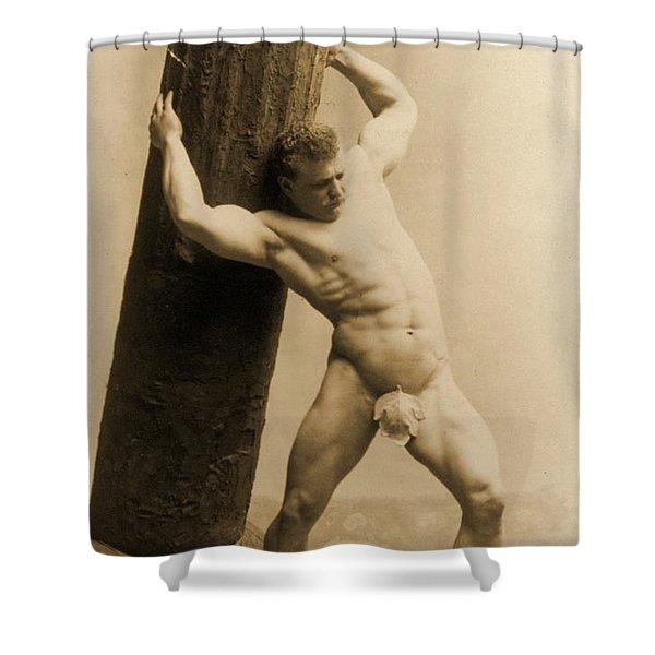 Eugen Sandow Shower Curtain