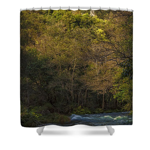Eume River Galicia Spain Shower Curtain