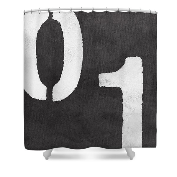 Even And Odd Numbers Shower Curtain