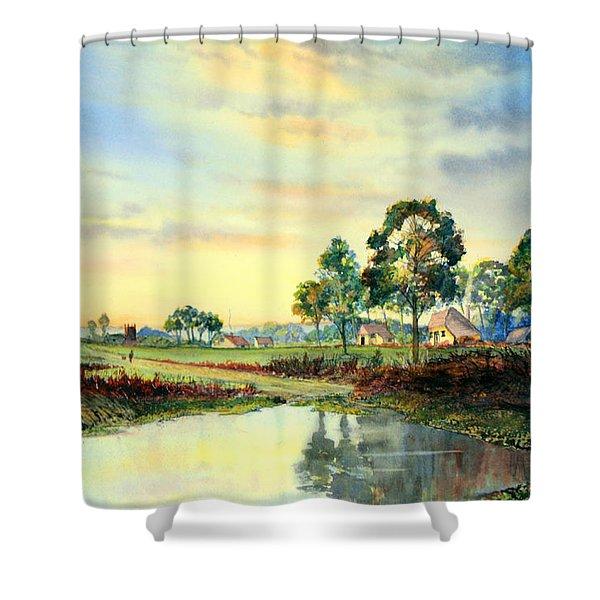 Evening Falls Shower Curtain