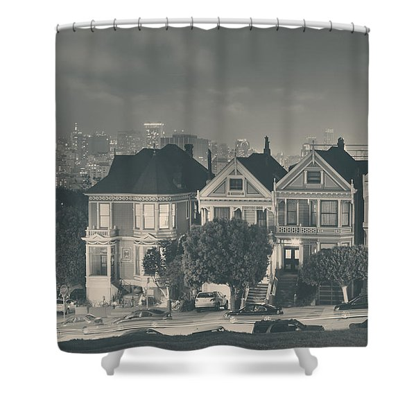 Evening Rendezvous Shower Curtain