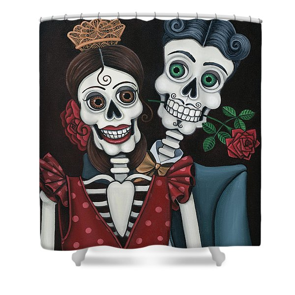 Every Juan Loves Carmen Shower Curtain