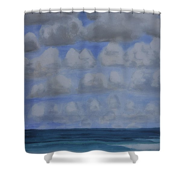 Everyday Is A New Horizon Shower Curtain