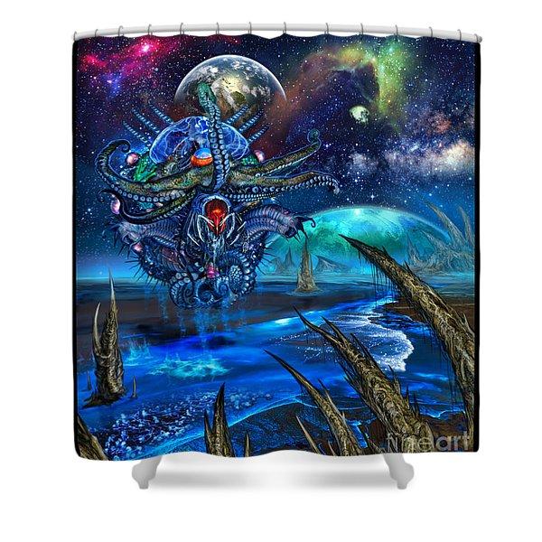 Evolutionary Space Shower Curtain