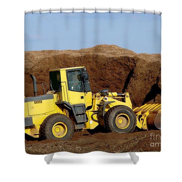 Excavation  Shower Curtain